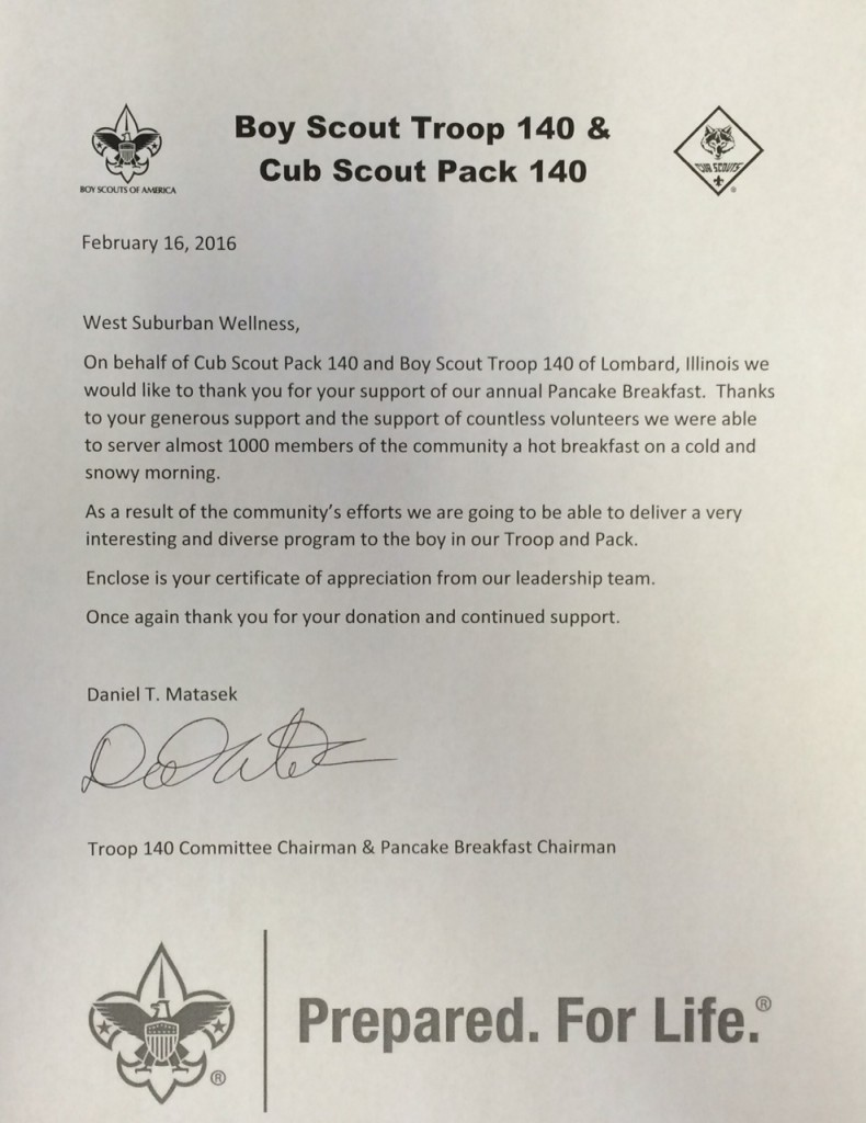 Boy Scout Troop 140 & Cub Scout Pack 140